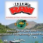 %100 Raw Federasyonu Uluslararası Bench Press Yarışması