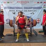 WNPF Uluslararası Bench, Deadlift ve Power Curl Şampiyonası