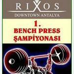 Rixos Otel Bench Press Şampiyonası