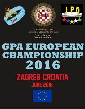 GPA AVRUPA ŞAMPİYONASI 2016 HIRVATİSTAN-ZAGREP