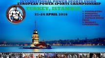 IPSU AVRUPA POWERLİFTİNG ŞAMPİYONASI İSTANBUL 'DA