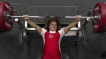 Nazmiye Muratlı paralimpik' te Dünya rekortmeni