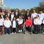 Bedensel Engelli Halter Milli Takımı Moral Yemeğinde Buluştu