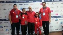 Bedensel Engelliler Halter Şampiyonası'nda Çifte Madalya