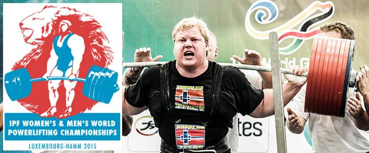 IPF 2015 Powerlifting Dünya Şampiyonası Başlıyor