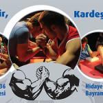 İstanbul Spor Klüpleri Arası Bilek Güreşi Yarışması 2014