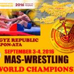 MAS-WRESTLİNG Dünya Şampiyonası 2016 Kırgızistan