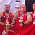 Powerliftingde 5 Altın Madalya